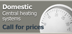 Central heating systems from £2,600